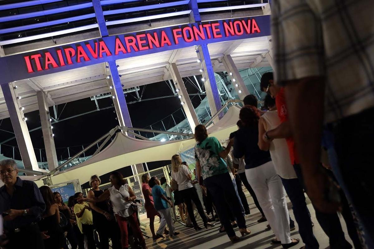 SHOW / ROBERTO CARLOS / ITAIPAVA ARENA FONTE NOVA